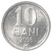 10 Moldovan bani coin — Stock Photo