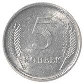 5 外涅斯特里亚科比硬币 — 图库照片