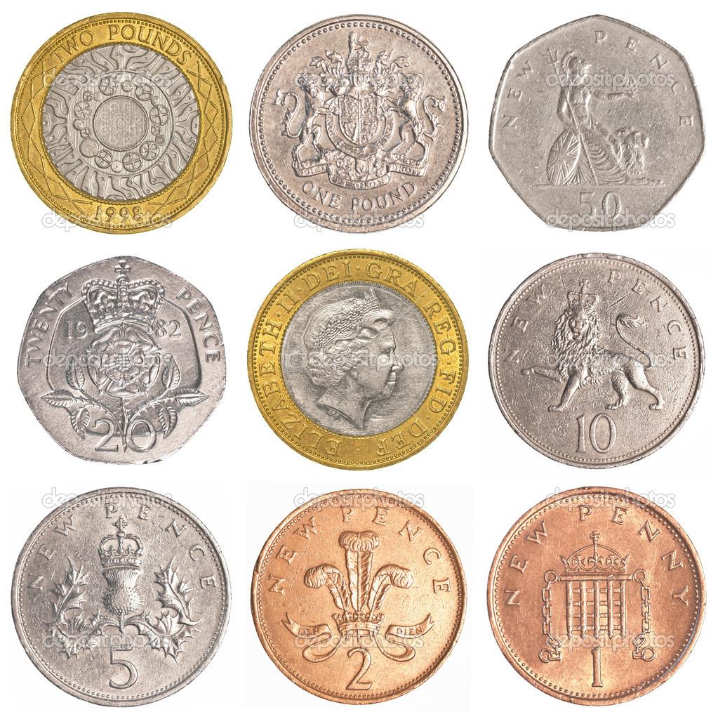 England Münzen