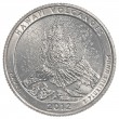 American one quarter coin - hawaii volcanoes — Stock Photo #40460601