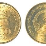 Постер, плакат: 1000 vietnamese dong coin