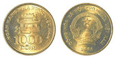 1000 vietnamese dong coin — Stock Photo