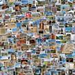 World travel collage — Stock Photo #48545807