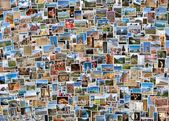 World travel collage — Stock Photo