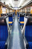 Trian cabin interior — Stock Photo