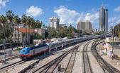 Urban scene in Haifa - Israel — Stock Photo