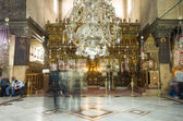 Church of the Nativity interior, Bethlehem, Israel — Stockfoto