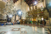 Church of the Nativity interior, Bethlehem, Israel — Foto de Stock