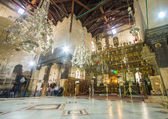 Church of the Nativity interior, Bethlehem, Israel — Stock Photo