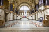 Ethnographic museum interior in Budapest, Hungary — Stock Photo