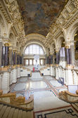 Ethnographic museum interior in Budapest, Hungary — Stock Photo