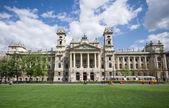 Ethnographic museum in Budapest, Hungary — Stock Photo