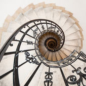 Winding staircase — Stock Photo