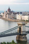 Paesaggio urbano di budapest — Foto Stock