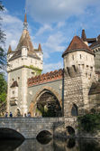 Vajdahunyad Castle in Budapest, Hungary — Stock Photo