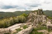 Rovine del castello di regec — Foto Stock