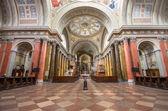 интерьер базилики, эгер, венгрия святого иоанна — Стоковое фото