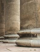 Riga colonna — Foto Stock