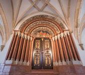 Interno della basilica di pannonhalma, pannonhalma, ungheria — Foto Stock