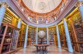 Интерьер библиотеки Паннонхалме, Паннонхалме, Венгрия — Стоковое фото