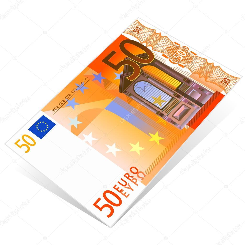 50 euro stock vector lynx v 23323352 for Wohnwand 50 euro