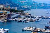 Monte Carlo city panorama. — Stock Photo