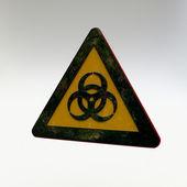 Warning Sign - Biohazard — Stock Photo