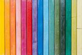 Démarcation très nette des pastels à l'huile — Photo