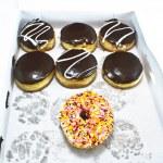 Box of Donuts — Stock Photo #23154358