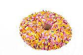 Весь пончик — Стоковое фото