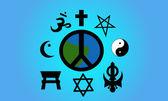 World Peace — Stock Vector