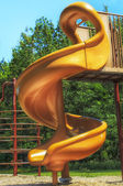 Orange Slide — Stockfoto