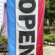 Stock Photo: Open Flag