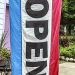 Open Flag — Stock Photo