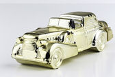 Golden Car — Stock Photo