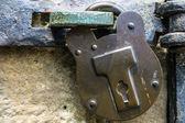 Antique Lock — Stock Photo