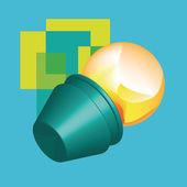 LAMPA 01 — Stock Vector
