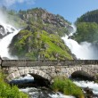 Stock Photo: Latefossen