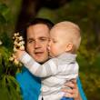 Father and son — Stock Photo #22913962