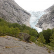 Stock Photo: Jostedalsbreen