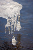 Eiszapfen — Stockfoto