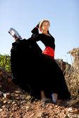 Ballerina di flamenco — Foto Stock