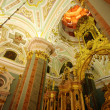 Chatedral in Peter and Paul fortress — Stock Photo