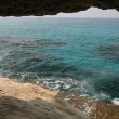 Sea caves in Cyprus - Stock Photo