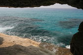 Sea caves in Cyprus — Stock Photo