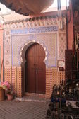 Door in Marrakech — Stock Photo