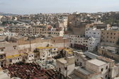 Roofs of Fez in Morocco — Stock Photo