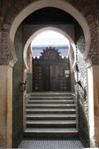 Doorway in Marrakech — Stock Photo
