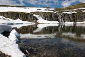 Lago glaciar — Foto de Stock