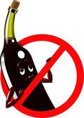 """Vector firma no prohibir """"alcohol"""" — Vector de stock"""